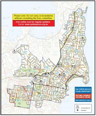 Jewish Eruv walled city of Sydney's East