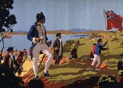 Australia settled as a British Colony