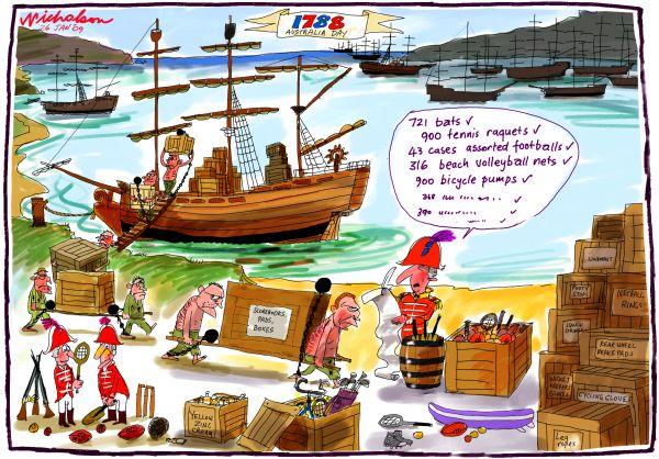First Fleet 1788