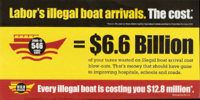 Illegal Immigrants cost Australia