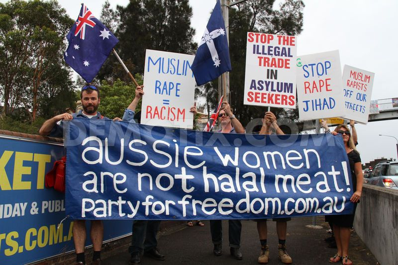 Iranian Asylum Seeker Raped Australian Woman