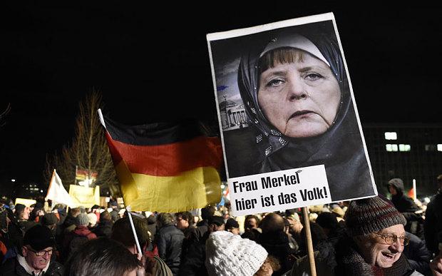 Angela Merkel pro-Islam