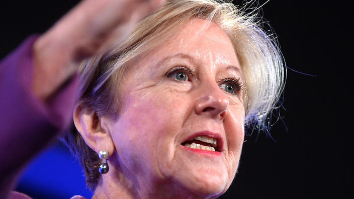 Gillian Triggs politically indignant when it suits