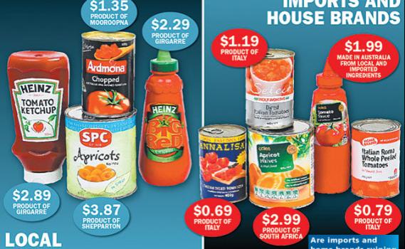 Home Brands hurting Australian Farmers
