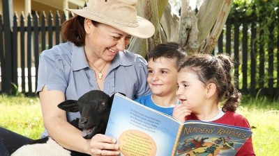 Mulgoa Preschool sings Baa Baa Black Sheep