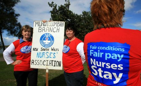 Nurses Strike in New South Wales