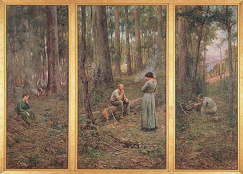 Pioneering Australians - Frederick McCubbin