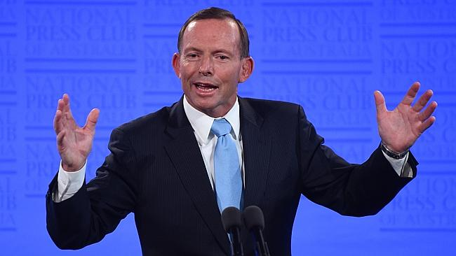Tony Abbott reflecting on 2014