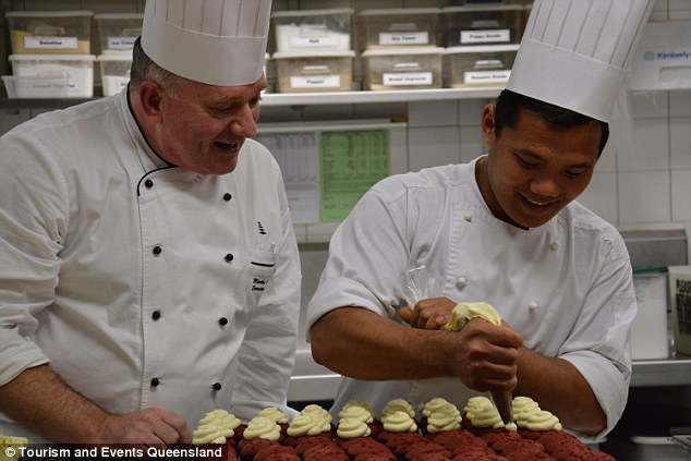 Cuisine for G20 Global Aristocrats paid for by Ordinary Australian Serfs