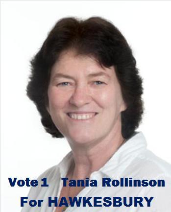 Tania Rollinson for Hawkesbury