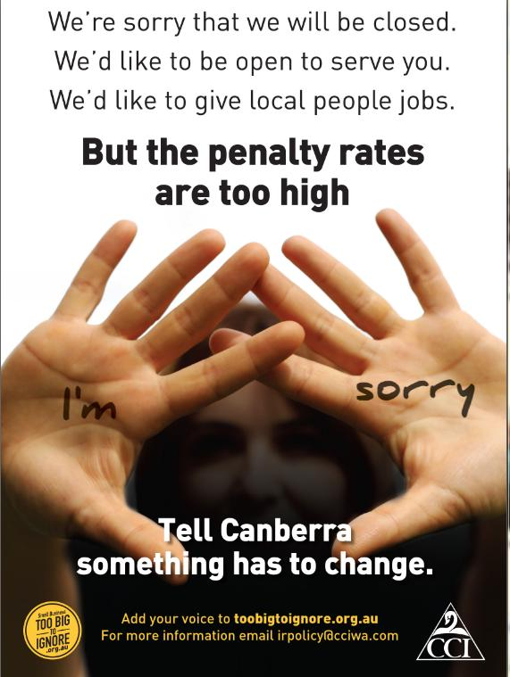 Australian Penalty Rates under attack