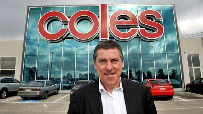 Coles Managing Director Ian McLeod