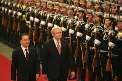 Kevin Rudd in China