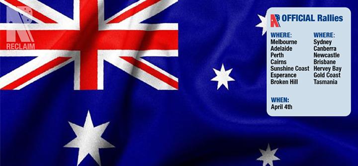 Reclaim Australia against Islamic Invasion