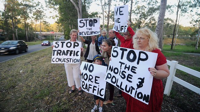 Toowoomba protested over the mosque