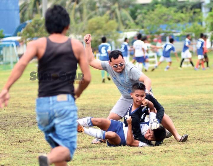 Philippino Childrens Soccer