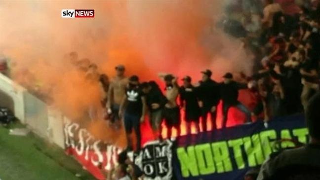 Sydney Soccer Wanderers Ethnic Fans Violence
