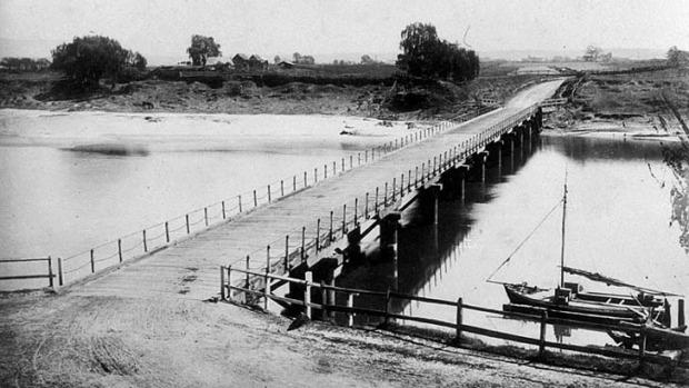 The Windsor Bridge c1888