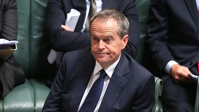 Bill Shorten hits the intellectual wall