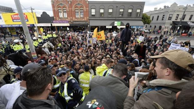 Richmond's Australian  Nationalist Rally