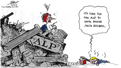 Rudd Gillard Backstab Legacy