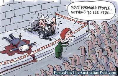 Rudd Gillard Backstab Moving Forward