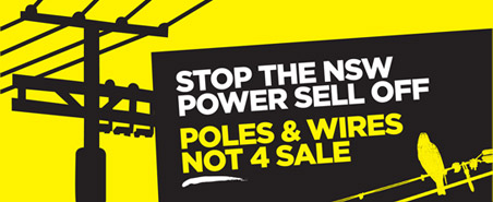 Stop the NSW Power Sell Off