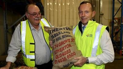 Abbott spruiking multinationals to take over northern Australian