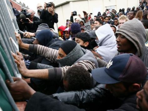 Africans swarming into Europe