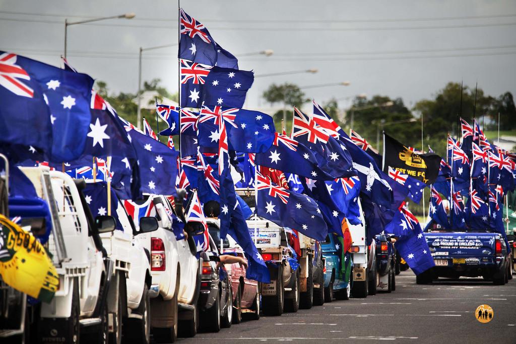 Aussie Flag Pride