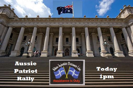 Aussie Patriot Rally 18 July
