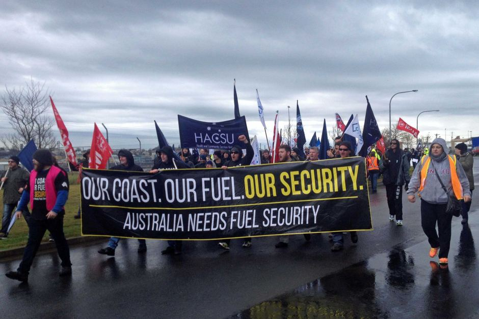 Australian Maritime Protest in Devonport