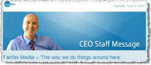 Fairfax CEO Greg Hywood
