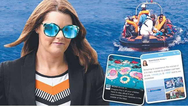 Sarah Hanson Youngs postcards from the Med