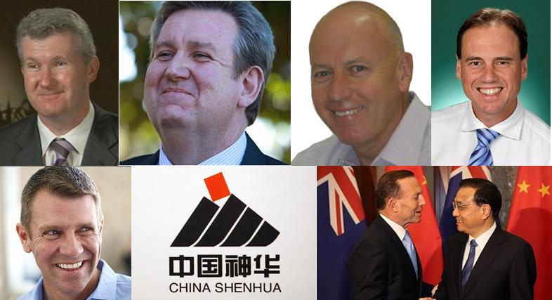 Shenhua Royalties Corruption