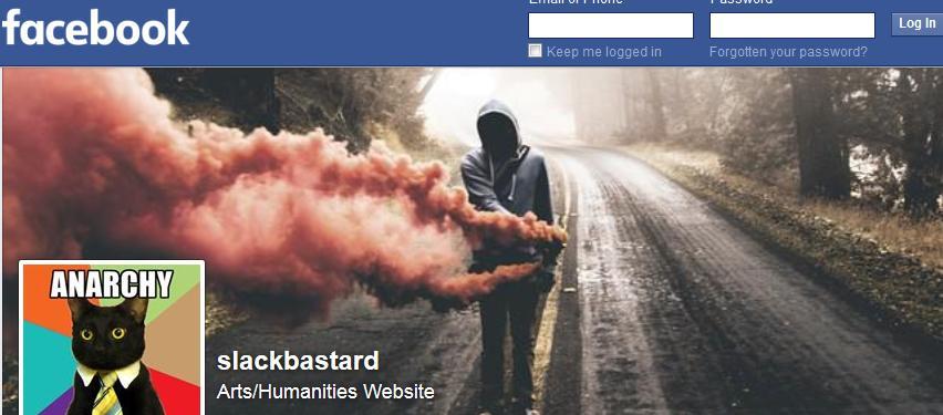 Slackbastard website incites Antifa Violence