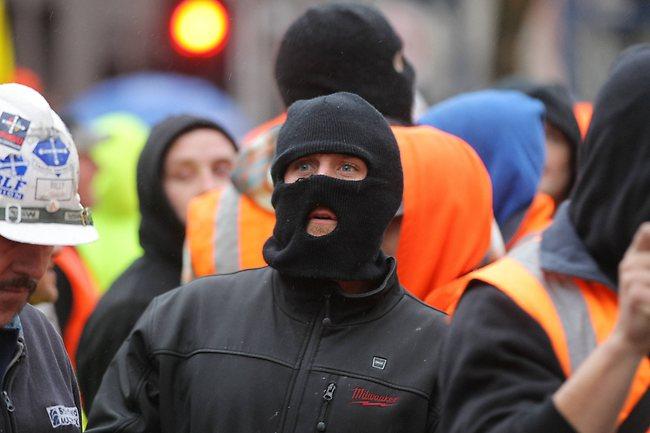 Union Thugs, Anarchists and Bikies