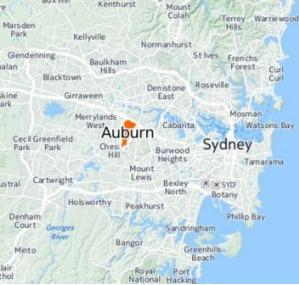 Auburn a festering pimple in Sydney