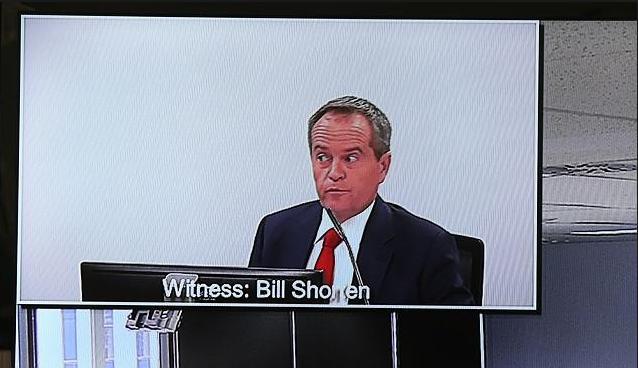 Bill Shorten cross-examined over AWU corruption