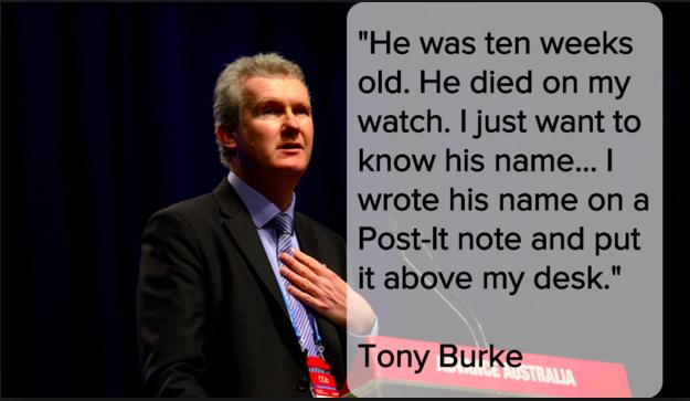 Tony Burke Immigration Minister