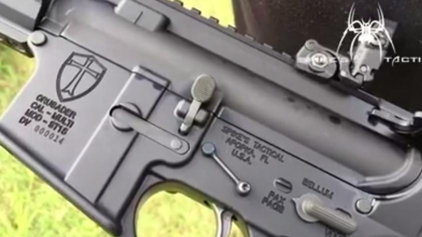 AR-15 Crusader Rifle