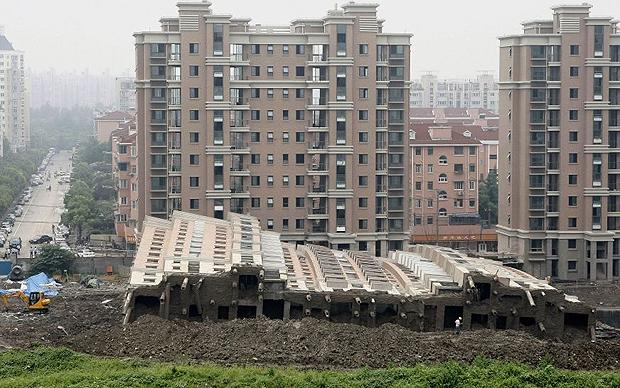 Shanghai building collapse