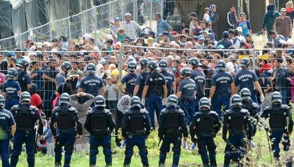 Syrians Welfare Seekers invade Hungary