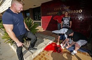 Bendigo Mock Beheading