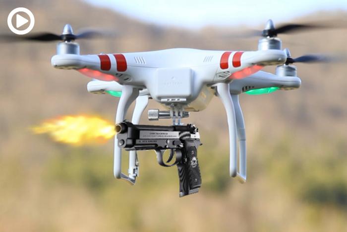 Islamic drone armed