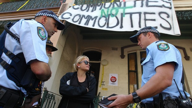 Millers Point Evictions for Packers Chinese Millionaires
