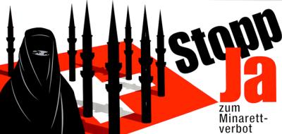 Swiss ban Islamic minarets