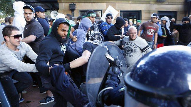 Sydney Islamic Riot