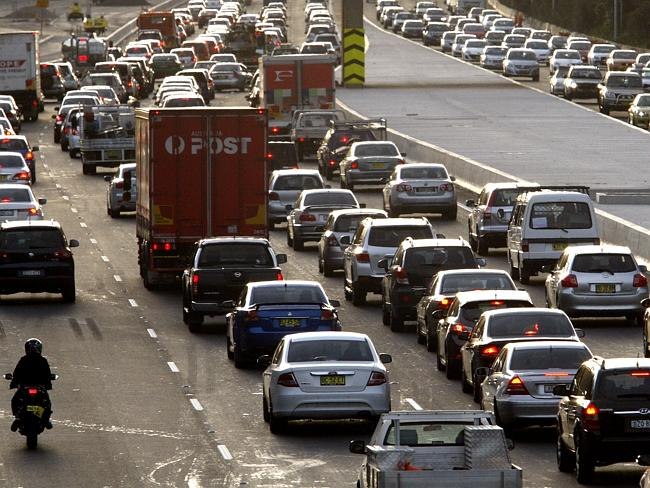 Badgerys Creek traffic congestion