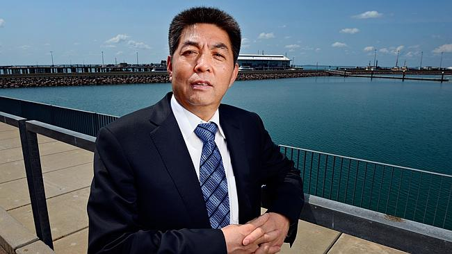 Chinese billionaire Ye Cheng, chairman of the Landbridge Group